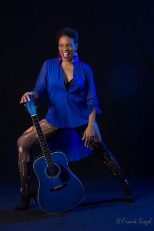 Renee blue guitar laugh